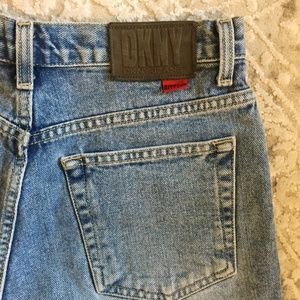 Vintage 90's DKNY High Rise Mom Short